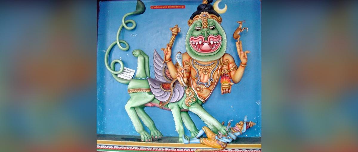 Fascinating Stories about Lord Shiva Ep III - Shiva fight with Narasimha avatara - hindufaqs.com