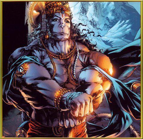 Hanuman by a graphic novel