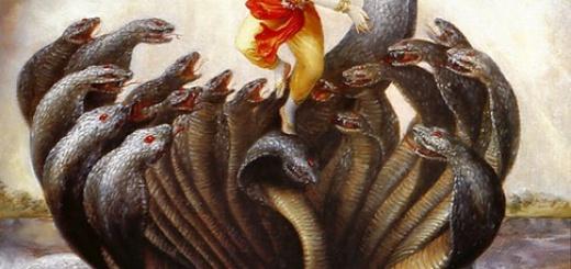 Krishna Conquers the Serpent Kaliya