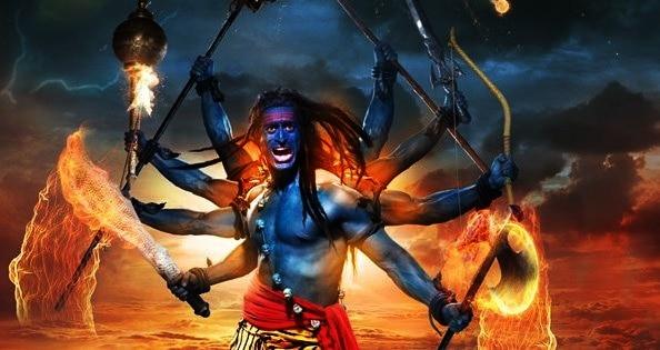 Shiva's Rudra avtar shown in a TV serial