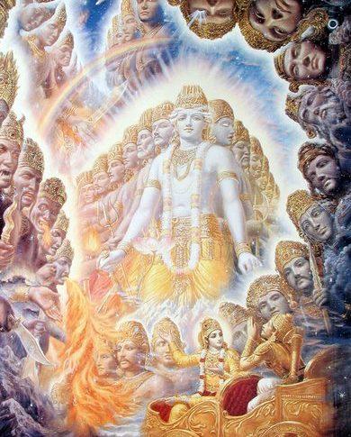 Shri Krishna Vishwaroop - Hindu FAQs