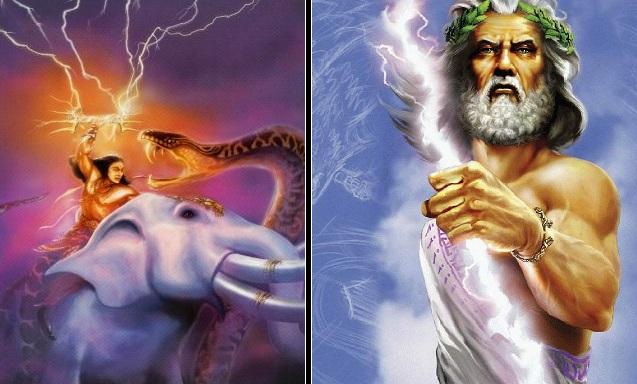 Indra and Zeus
