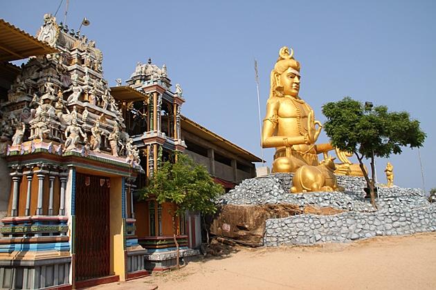 Shiva's Statue at Koneswaram