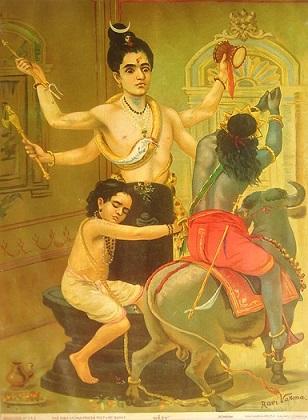 Markandeya and shiva   Hindu FAQs