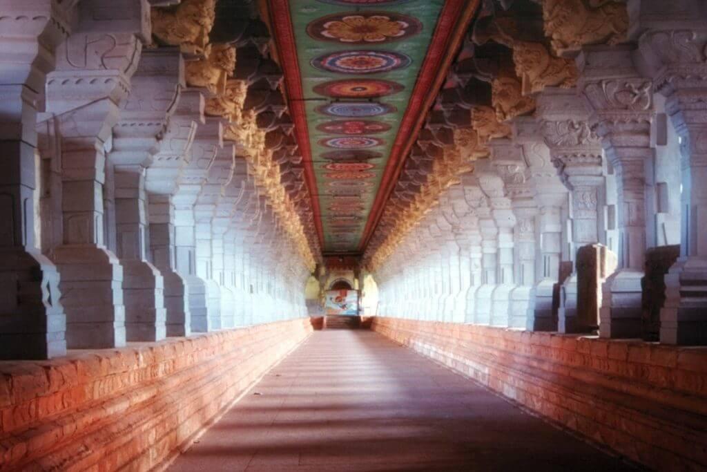 Rameshwaram temple corridor
