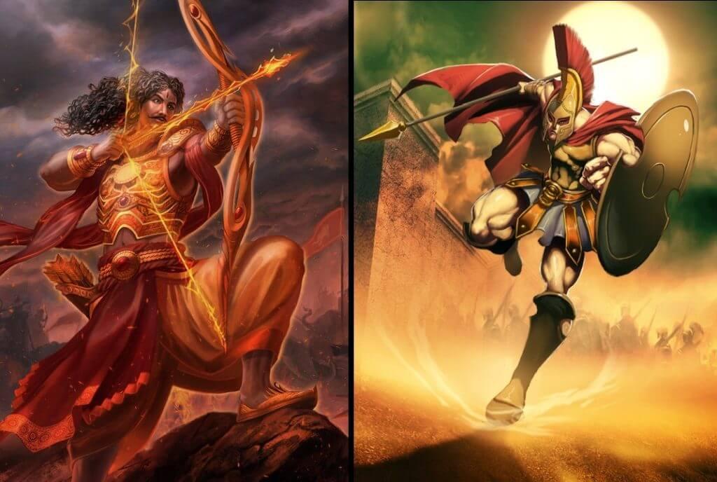 Karna and Hector: