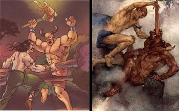 Bhima And Theseus