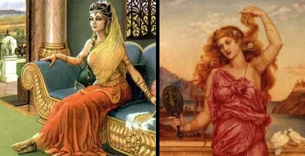 Helen of Troy and Draupadi