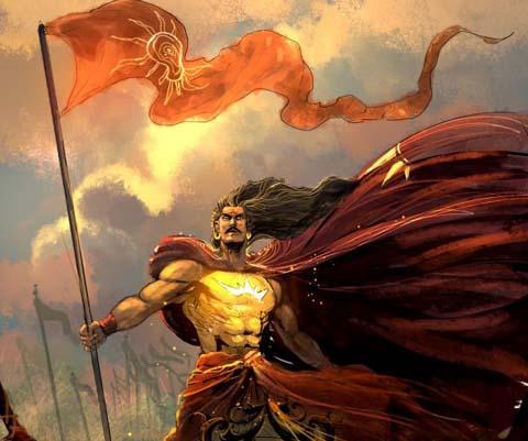 karna from Mahabharata