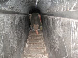 Narrow Stairs of sita gupha