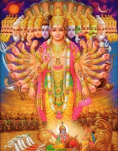 Lord Vishnu ViratRoop or Vishwaroop | Hindu FAQs