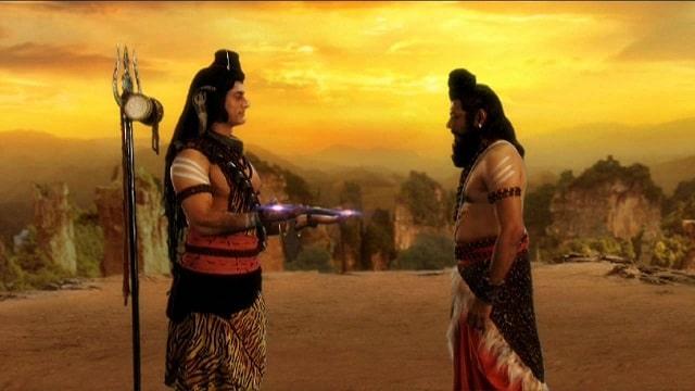 Parshurama and Shiva   Hindu FAQs