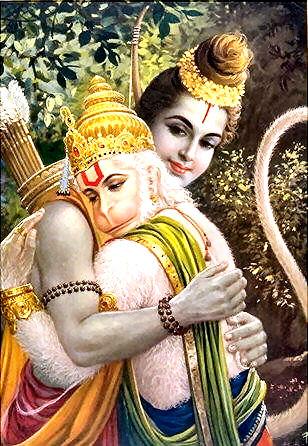 Shri Rama And Hanumana | Hindu FAQs