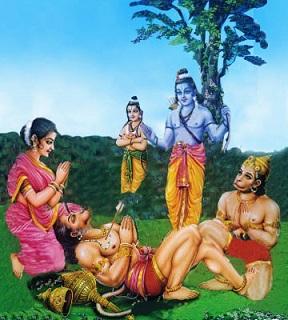 Rama and Vali | Hindu FAQs