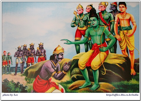 Vibheeshana joining Rama | Hindu FAQs