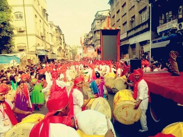 Gudi Padva rally in Mumbai