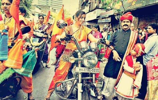 Bike rally for Gudi Padva 2015