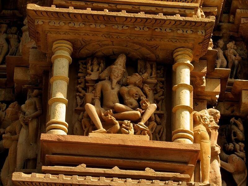 Erotic indian temple carvings