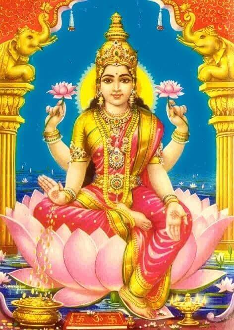 Lakshmi is the Hindu goddess of wealth