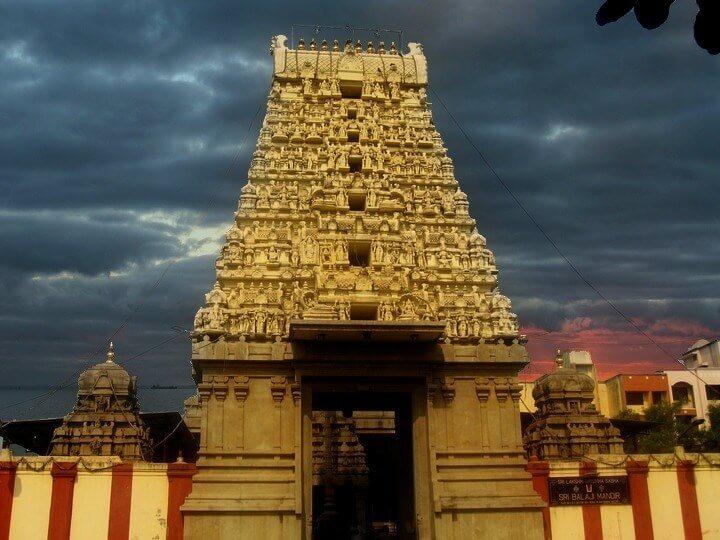 Balaji Temple Rajagopuram Nerul,  Navi Mumbai