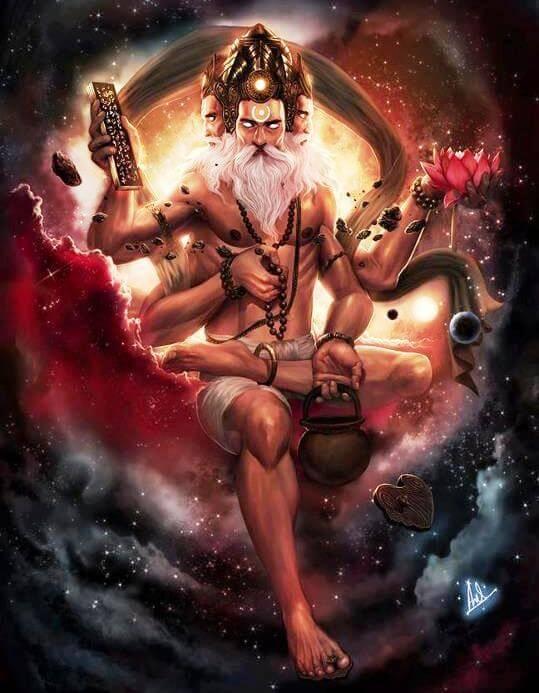 Brahma - The creator | Hindu FAQs