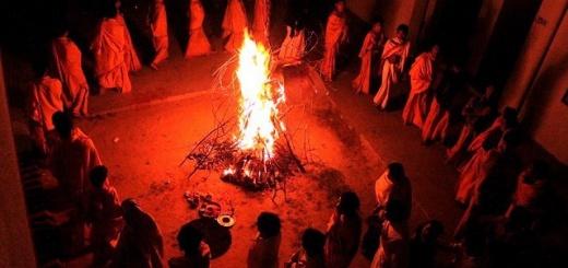 Holi Dahan, Holi Bonfire
