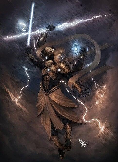 Indra, Zeus, Thor
