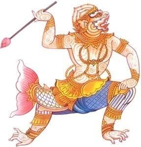 Makardhwaja, Hanuman's Son