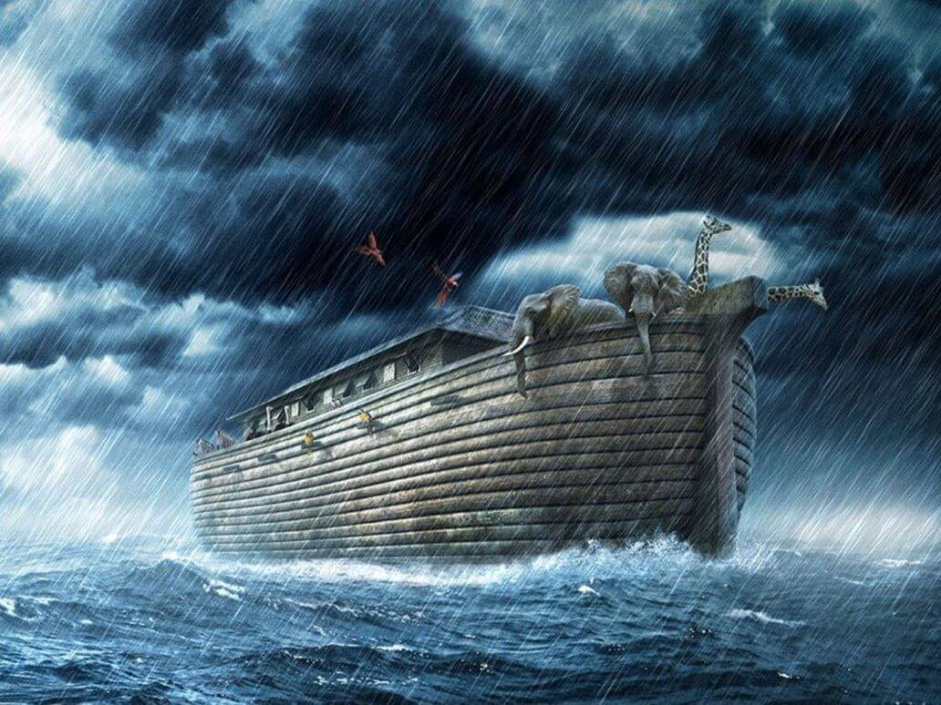 Manu, Noah and flood myth