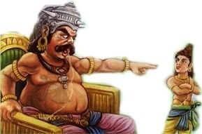 Hiranyakashipu and Pralhad