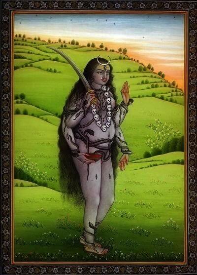 Bhairavi The Fierce Goddess