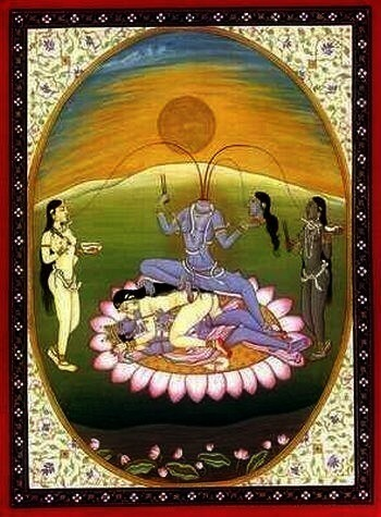 Chhinnamasta The self-decapitated Goddess.