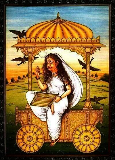 Dhumavati The Widow Goddess