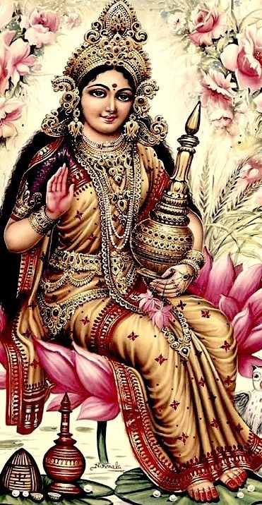 Lakshmi is the Hindu goddess of wealth