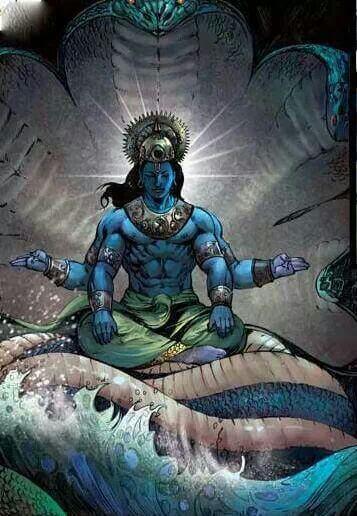Vishnu the Protector
