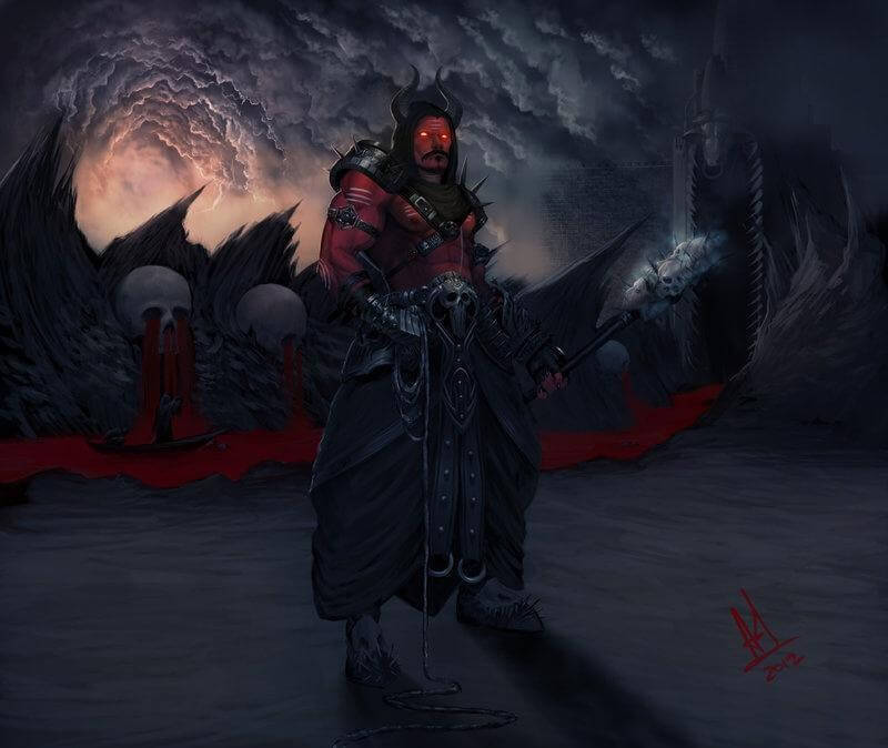 मौत का दूत, यम और नरक में दंड, पाताल स्थित नारका