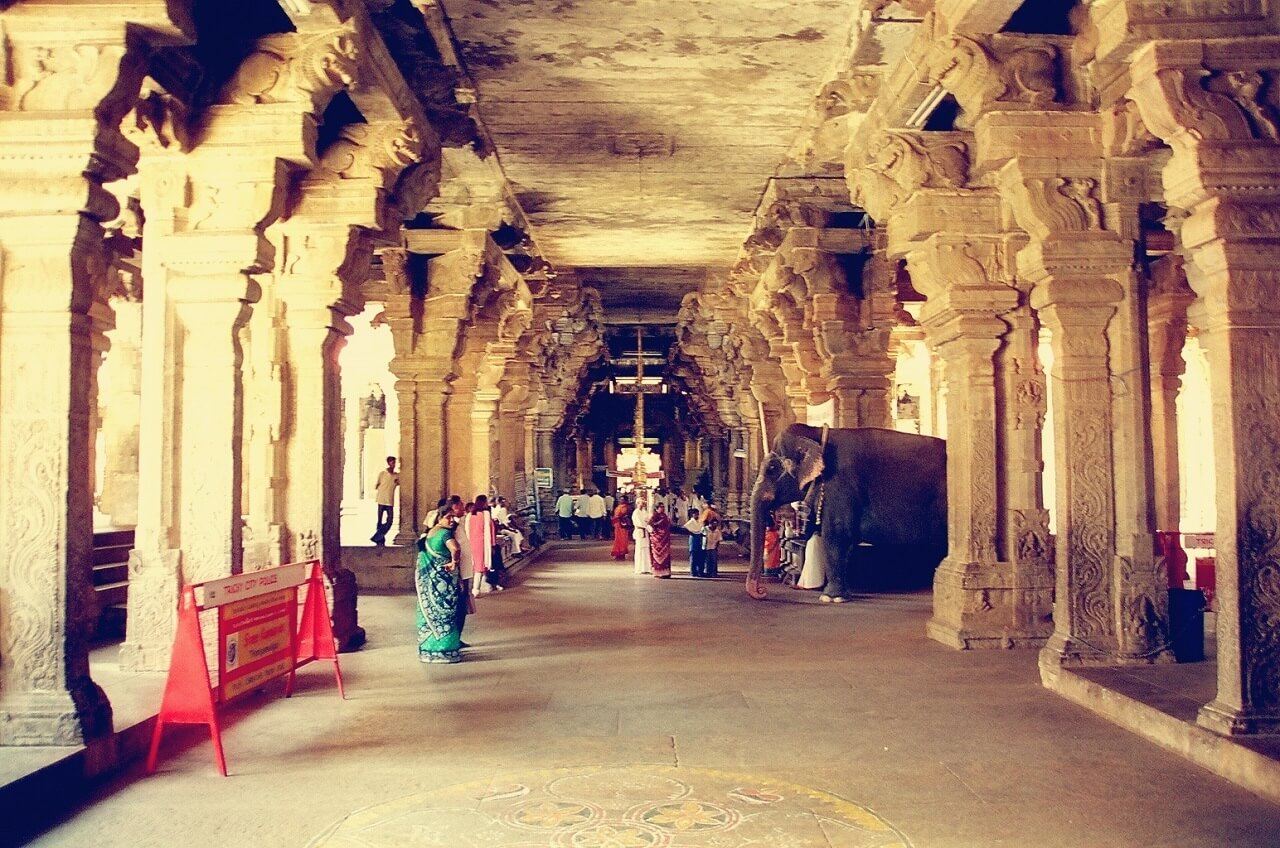 Sri Ranganathaswamy Temple The Hall of 1000 pillars