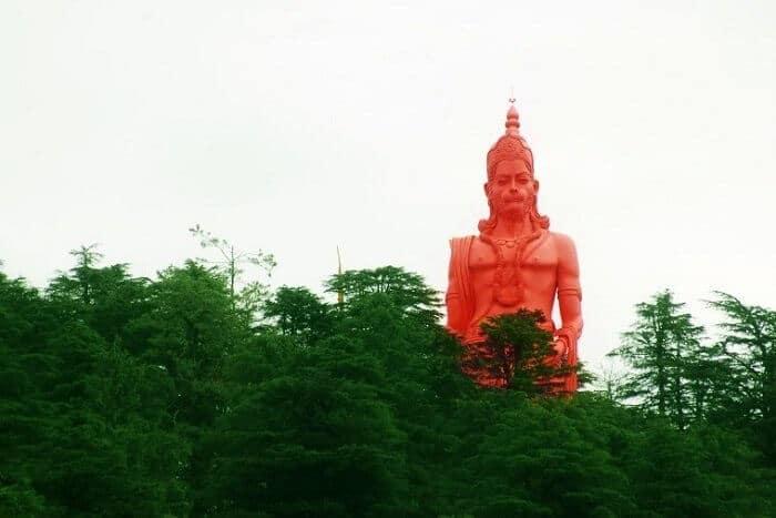 Jhaku hill Hanuman statue | Hindu FAQs