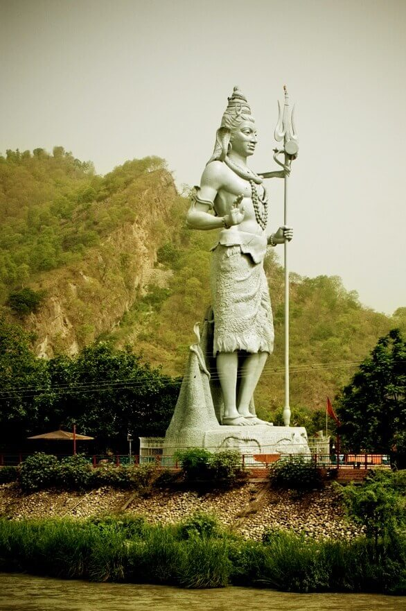 Shiva of the Har Ki Pauri