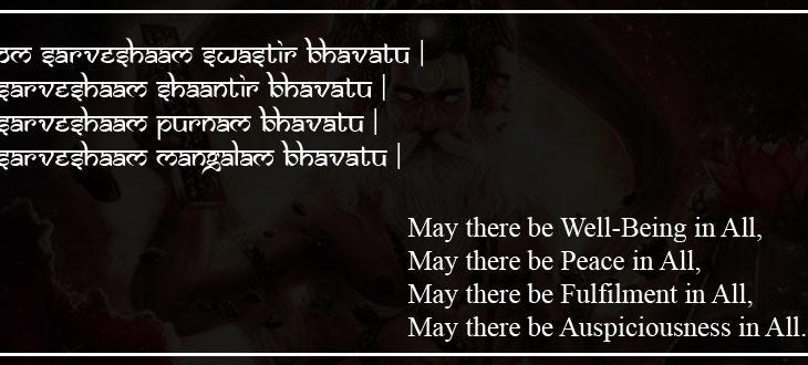 sarvesham swastir bhavatu - The Hindu FAQs