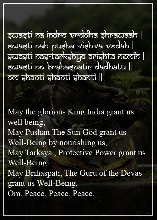 swasti na indro - The Hindu FAQs